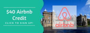Get your free $40 Airbnb credit click to sign up