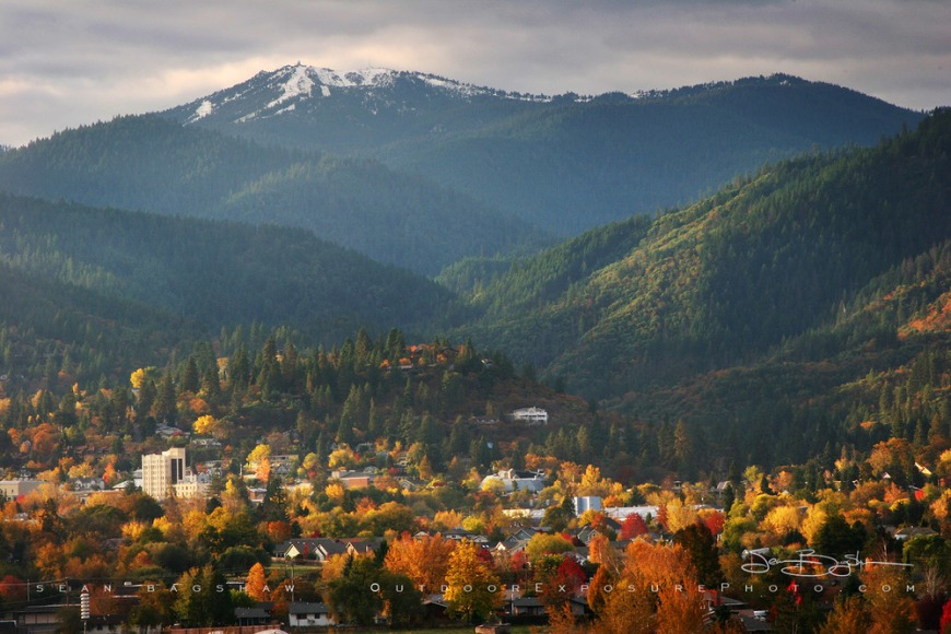 Beautiful Town of Ashland, Oregon