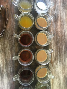 Coffee And Tea Samples