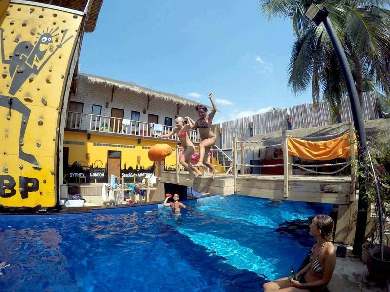 Our hostel on Gili T, Gili Castle