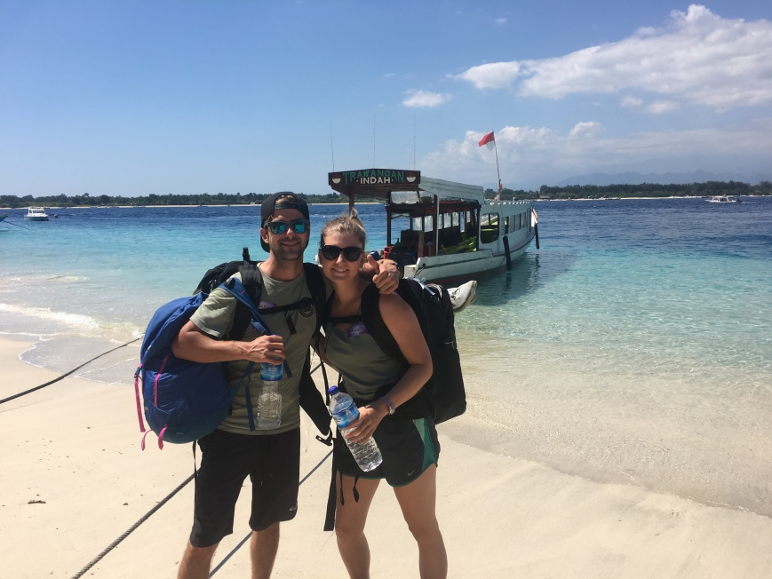 Made It To Gili Trawangan On The Fast Boat From Bali