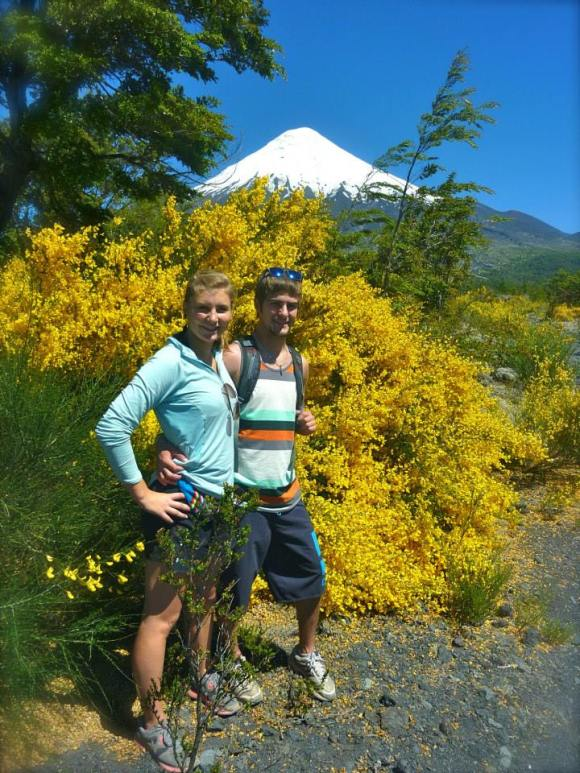 Hiking Around Volcan Osorno in Southern Chile