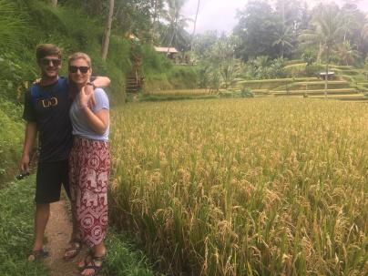 Exploring The Tegalalang Rice Terrace