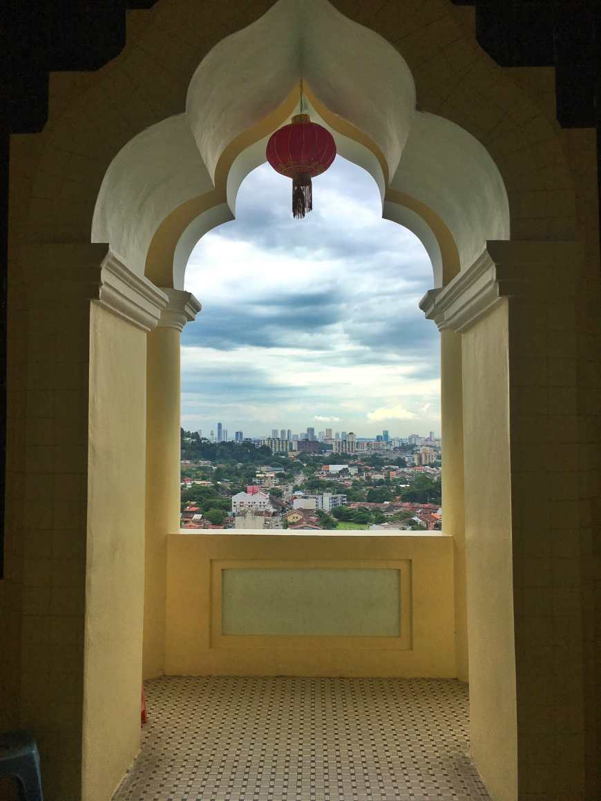 From the different floors int he pagoda you get amazing views of the city and landscape below