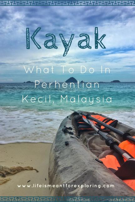 Kayak Around Perhentian Kecil