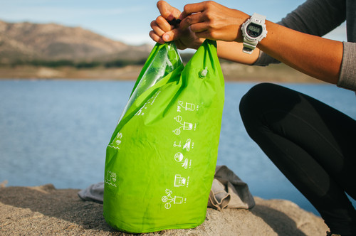 Washing laundry on the road is fun and easy with these handy Srubba Bags!