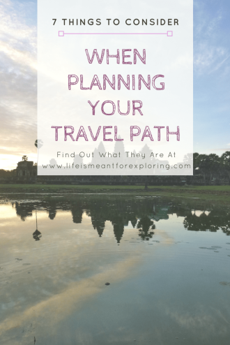 Plan your travel path
