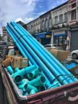 Color mapping our way though Phuket and finding trucks full of blue pipes