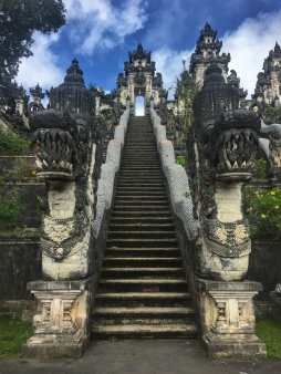 Stairway up to Pura Lempuyang
