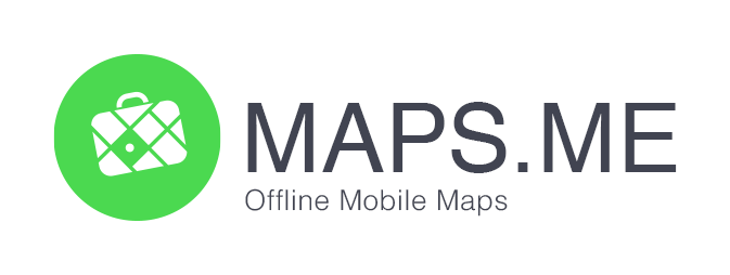 Logo for Mobile Maps Travel App Maps.Me