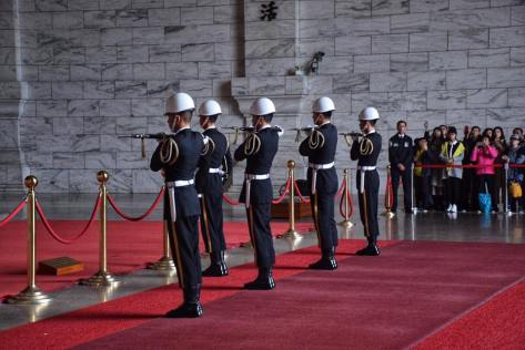 Changing of the Guards at Chiang Kai Shek Memorial
