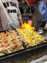 Blow Torched Octopus at Taipei night market