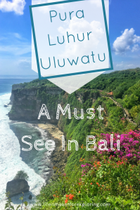 Pin to save your guide to Uluwatu Temple in Bali to Pinterest