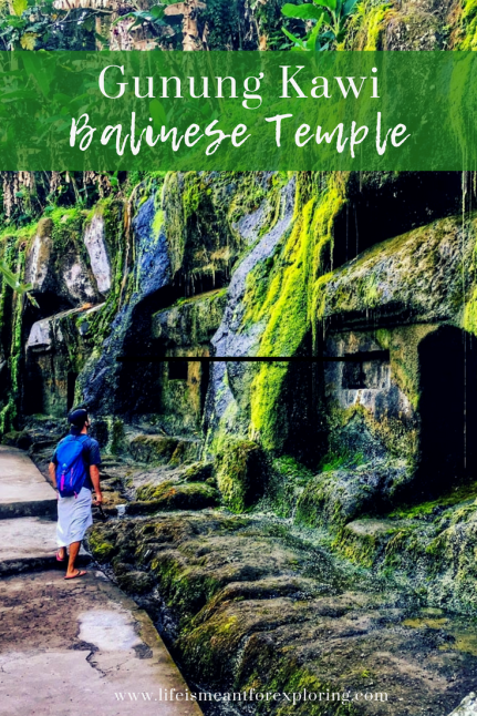 Pin to pinterest for the ultimate guide to visit Gunung Kawi Temple in Bali